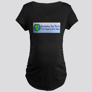 bf_sw_cd_em Maternity Dark T-Shirt