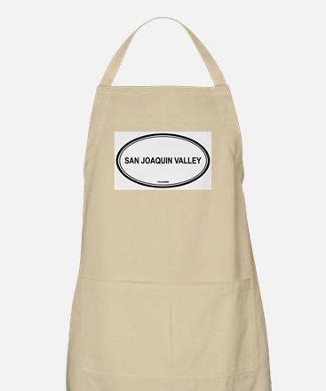 San Joaquin Valley oval BBQ Apron
