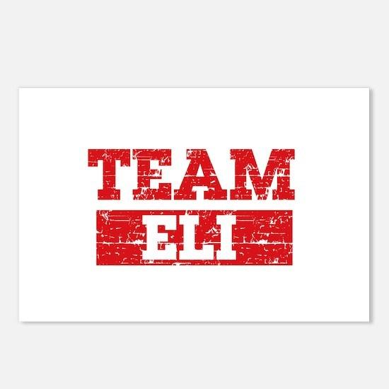 Team Eli Postcards (Package of 8)