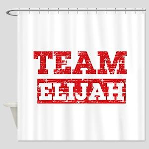 Team Elijah Shower Curtain