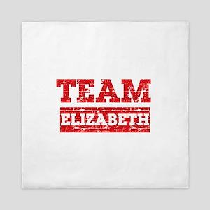 Team Elizabeth Queen Duvet