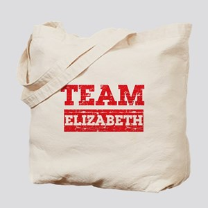Team Elizabeth Tote Bag