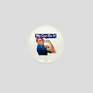 Rosie the Riveter Mini Button