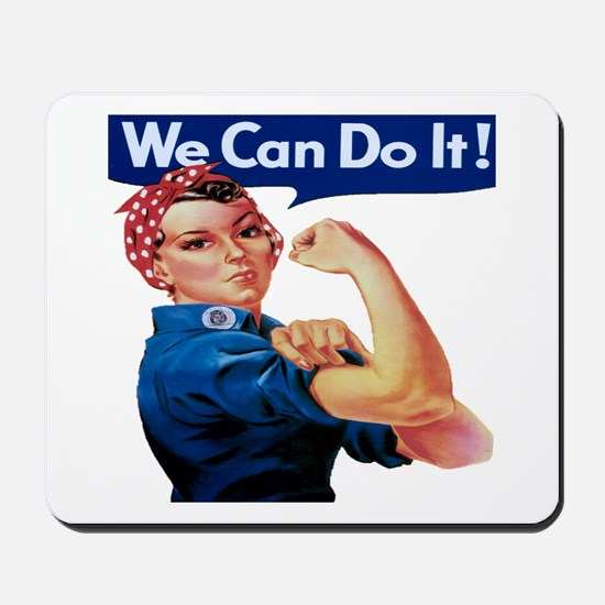 Rosie the Riveter Mousepad
