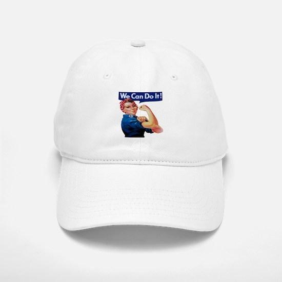 Rosie the Riveter Baseball Baseball Cap