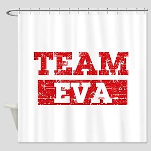 Team Eva Shower Curtain