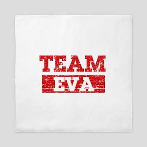 Team Eva Queen Duvet