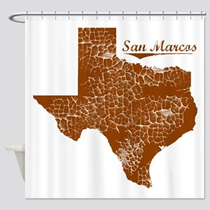 San Marcos, Texas (Search Any City!) Shower Curtai