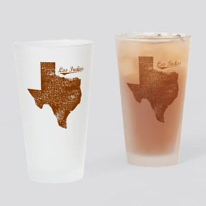 Los Indios, Texas (Search Any City!) Drinking Glas