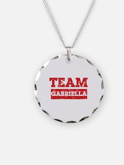 Team Gabriella Necklace