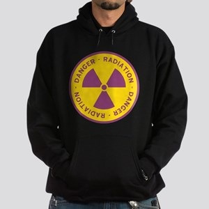 Radiation Warning Symbol Hoodie (dark)