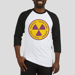 Radiation Warning Symbol Baseball Jersey