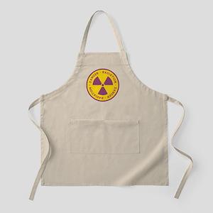 Radiation Warning Symbol Apron