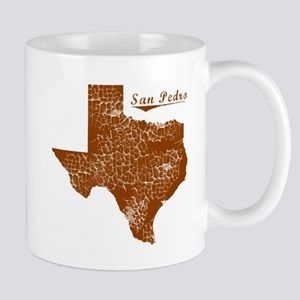 San Pedro, Texas (Search Any City!) Mug