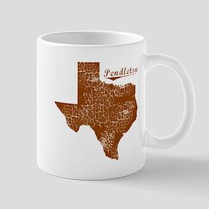 Pendleton, Texas (Search Any City!) Mug