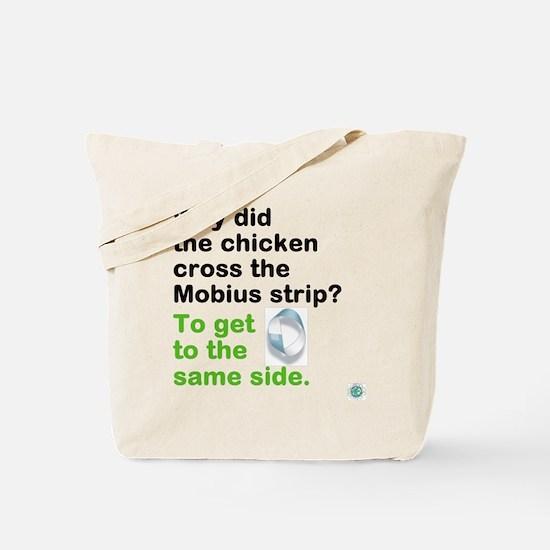 Cool Funny math joke Tote Bag