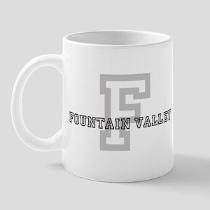 Fountain Valley (Big Letter) Mug