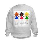Contemporary Sisterhood Kids Sweatshirt
