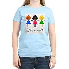 Contemporary Sisterhood Women's Light T-Shirt