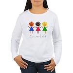 Contemporary Sisterhood Women's Long Sleeve T-Shir