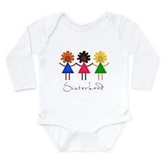 Contemporary Sisterhood Long Sleeve Infant Bodysui