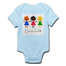 Contemporary Sisterhood Infant Bodysuit