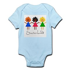 Contemporary Sisterhood Infant Bodysuit