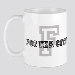 Foster City (Big Letter) Mug