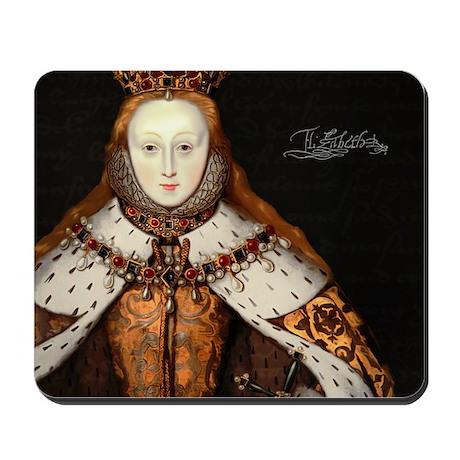Coronation of Elizabeth I Mousepad