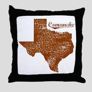 Comanche, Texas (Search Any City!) Throw Pillow