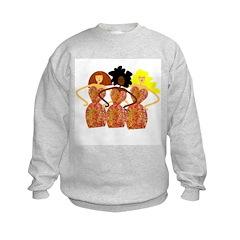 Three Abstract Divas Sweatshirt