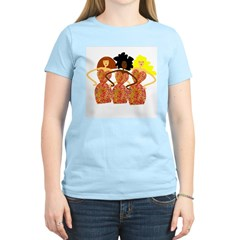 Three Abstract Divas Women's Light T-Shirt