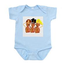 Three Abstract Divas Infant Bodysuit
