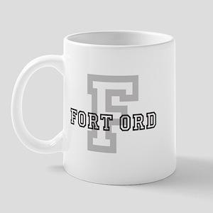 Fort Ord (Big Letter) Mug