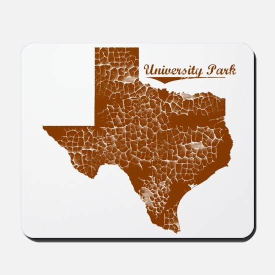 University Park, Texas. Vintage Mousepad