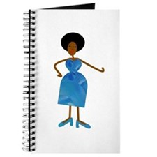 Diva in Blue Dress Journal