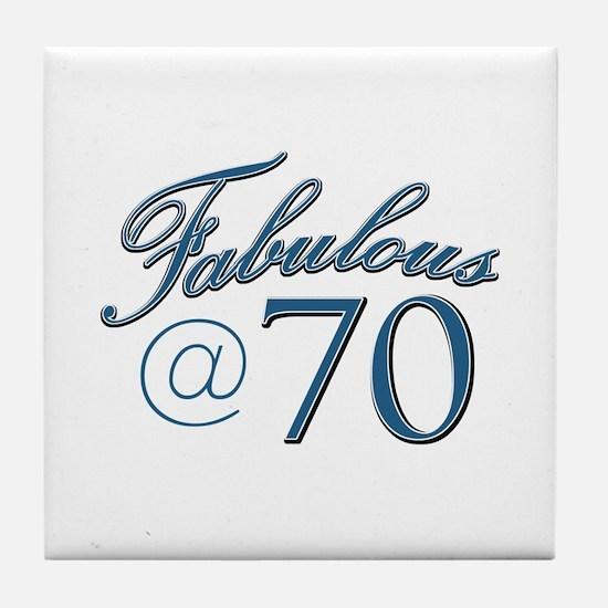 Fabulous at 70 Tile Coaster