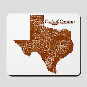 Central Gardens, Texas. Vintage Mousepad