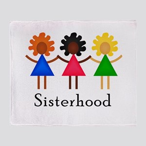 Classic Sisterhood Throw Blanket