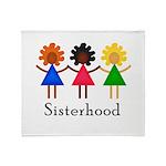 Classic Sisterhood Throw Blanket