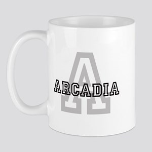 Arcadia (Big Letter) Mug