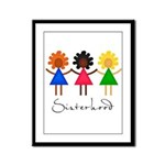 Contemporary Sisterhood Framed Panel Print