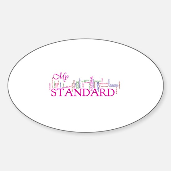 My Standard Sticker (Oval)