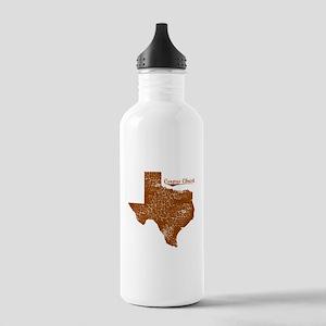 Corpus Christi, Texas. Vintage Stainless Water Bot