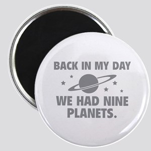We Had Nine Planets Magnet