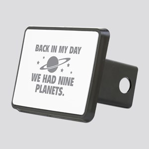 We Had Nine Planets Rectangular Hitch Cover