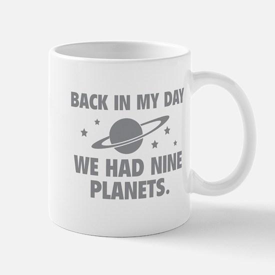 We Had Nine Planets Mug