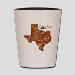 Omaha, Texas (Search Any City!) Shot Glass