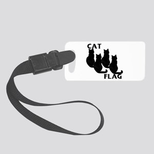 Black Cat Small Luggage Tag