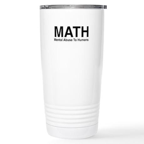 MATH Stainless Steel Travel Mug